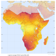Africa has immense solar PV potential. Source: Global Solar Atlas, owned by the World Bank Group and provided by Solargis.