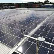 Retail solar system, East London