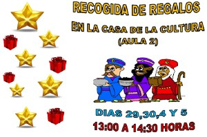 RECOGIDA DE REGALOS