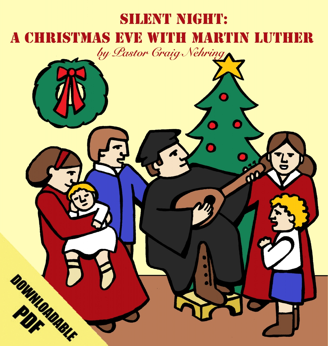 Image result for Silent Night a Christmas Eve with Martin Luther