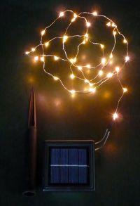 Solar Copper Wire Lights [SLS-C]