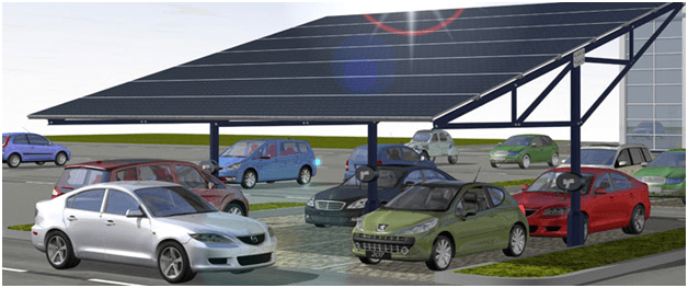 Solar Canopy Cleaning Across The UK From Clean Solar Solutions