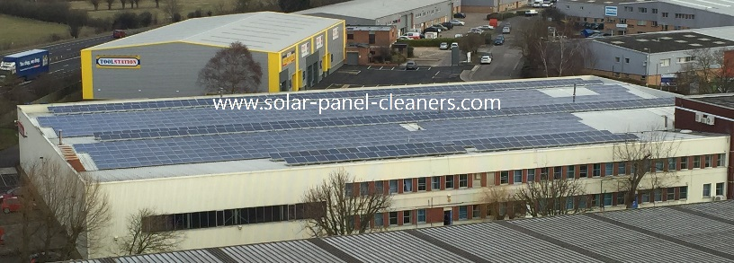 Solar Panel Cleaning In Abingdon For White Goods Giant, Miele
