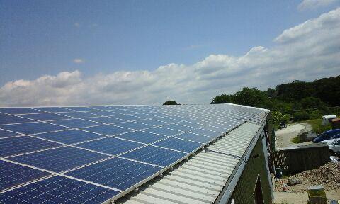 Panel Cleaning On NWT Solar Head Office, Haywards Heath