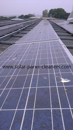 Solar Panel Cleaning Completed At Derby University