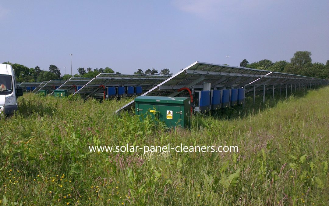 Ground Maintenance On UK Solar Parks & Farms From CSS