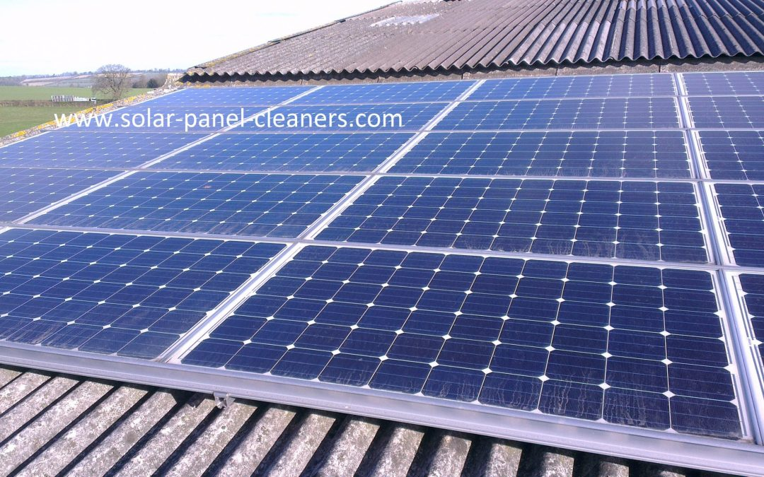 Solar Panel Cleaning On 3 Solar Sites For Willey Estate, Shropshire