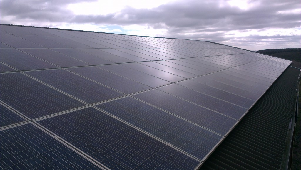 Solar Panel Cleaning Completed On Shropshire Solar Farm