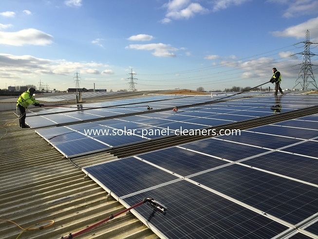 Solar Panel Cleaning Completed In Birmingham For Spirit Solar