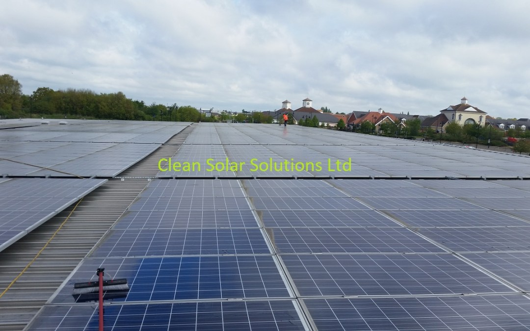 Braintree Council Award Solar Panel Cleaning Contract