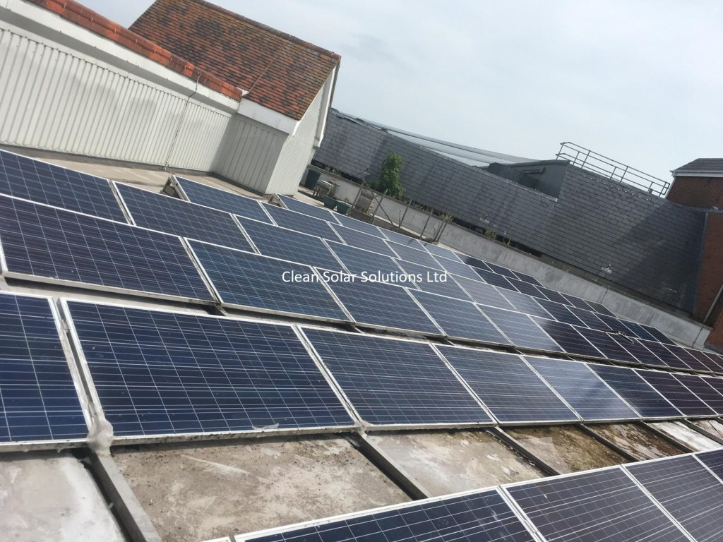 Solar panel cleaning Canterbury