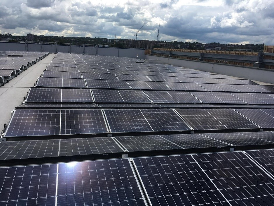 Solar panel cleaning Greenwich
