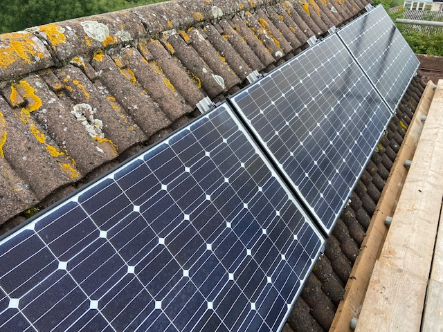 Solar panel cleaning Gloucester