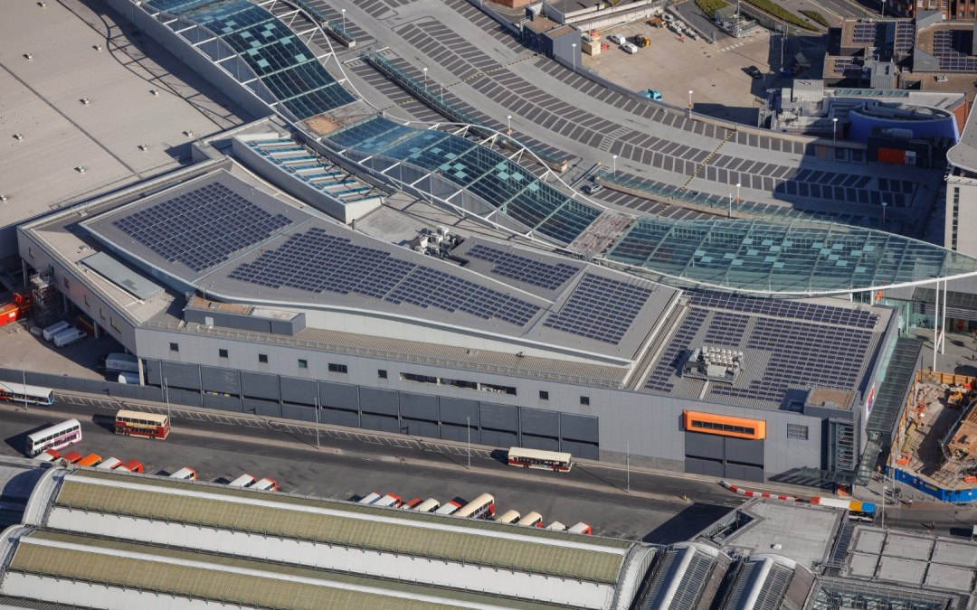 Solar Panel Cleaning In Hull Completed On Shopping Centre