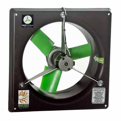 """Snap Fan 12"""" DC Ventury Fan"""