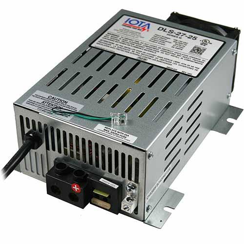 IOTA DLS27-15 24 Volt 15 Amp Battery Charger / Power Converter