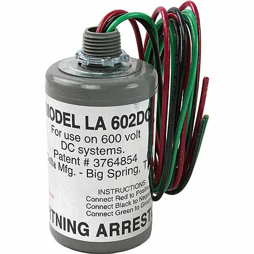 Delta 600 VDC Lightning Arrestor 3 Wire