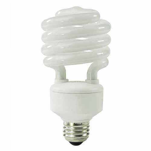 Enerwatt 15W Compact Fluorescent Bulb, Spiral