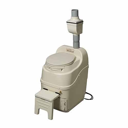 Sun-Mar Mobile 120V Composting Toilet