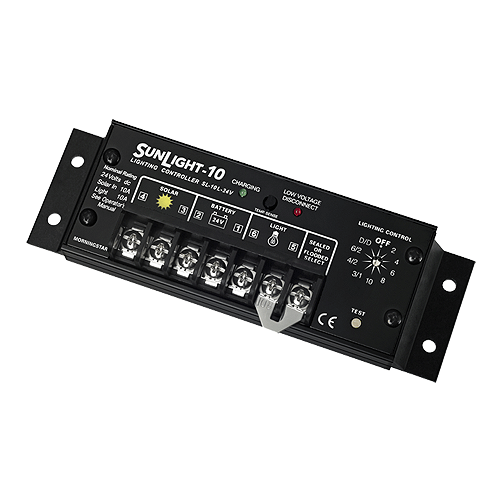 Morningstar SunLight SL-10L-24Volt 10A Charge/Lighting Controller