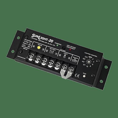 Morningstar SunLight SL-20L-12Volt 20A Charge/Lighting Controller