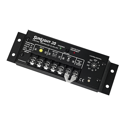 Morningstar SL-20L-24V 20A  charge/lighting controller