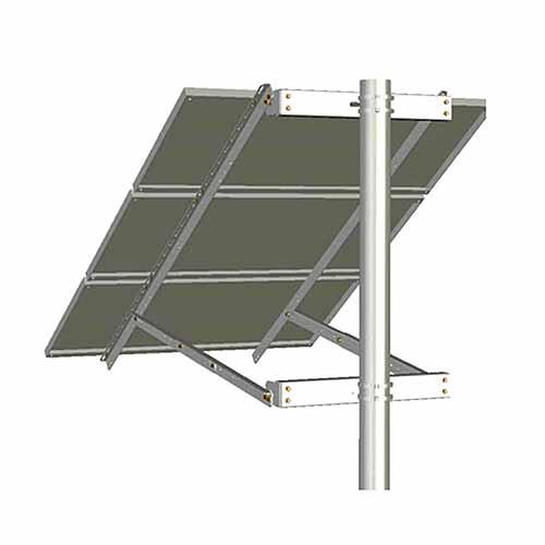 Tamarack Solar UNI-SP/03, Side of Pole Solar Panel Mount