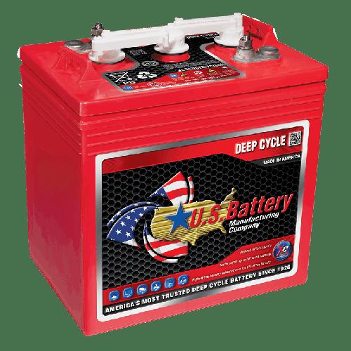 US Battery US 2200 XC2 Lead Acid Battery - 6 Volt, 232 Ah