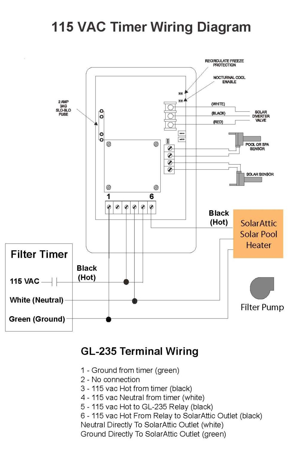 medium resolution of 4 wire timer diagram wiring library woods timer wiring diagram 115 vac timer wiring diagram