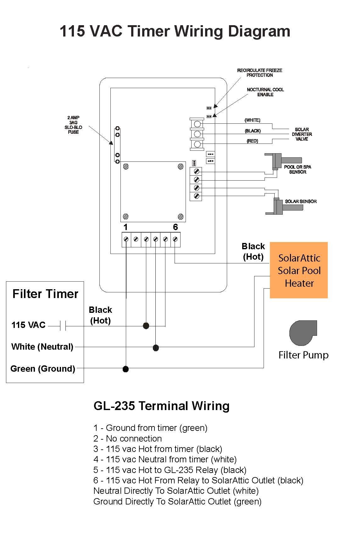 hight resolution of 4 wire timer diagram wiring library woods timer wiring diagram 115 vac timer wiring diagram