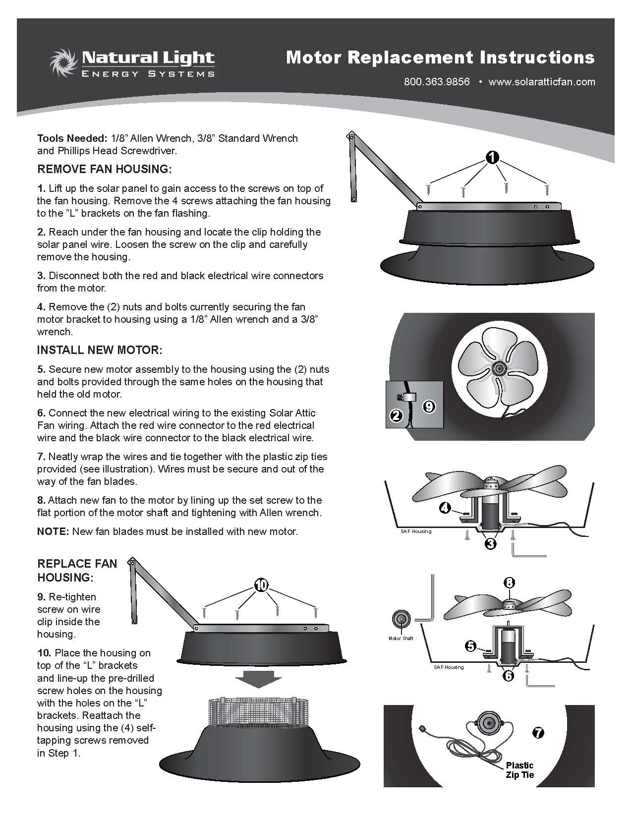 hight resolution of https www solaratticfan com wp content uploads fan motor replacement instructions