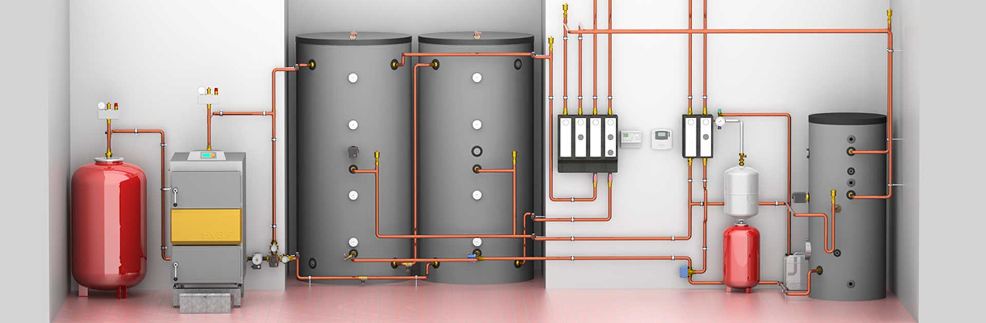 hight resolution of heating system example