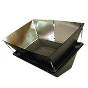Image Of Solar Oven Cooking Turkey