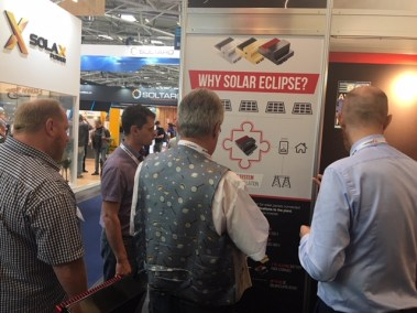 Intersolar Europe 2018 - Solar Eclipse stand (15)