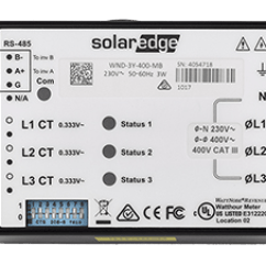Modbus Rs485 Wiring Diagram Ap50 Cruise Control Energy Meter With Connection Solaredge A World Leader In