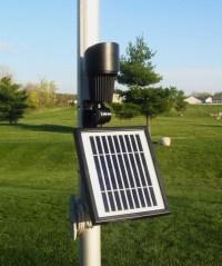Warm Toned High Intensity Accent Solar Spotlight or Flag Light