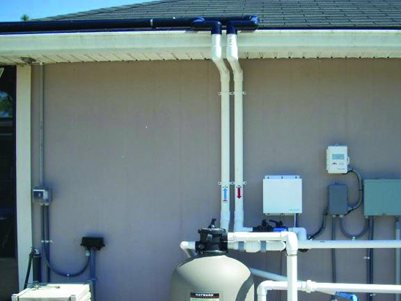 Photos During Installation  Solar Pool Heaters Solar