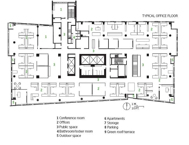 Simple Office Plan