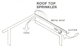 Roof Sprinklers & Orbit 57069 Sprinkler System Hard Wired