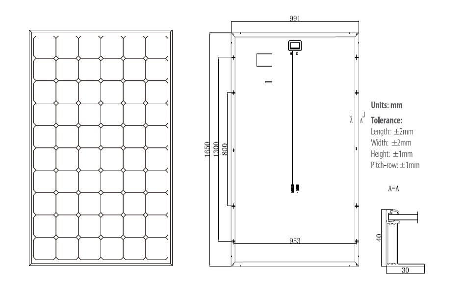 Longi Solar HiMO1 LR6-60PE-305M 305w Mono Solar Panel