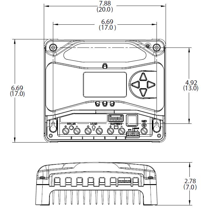 Morningstar ProStar PS-MPPT-25 MPPT Charge Controller