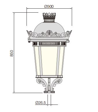 China Crown LED Garden Light Manufacturers, Suppliers
