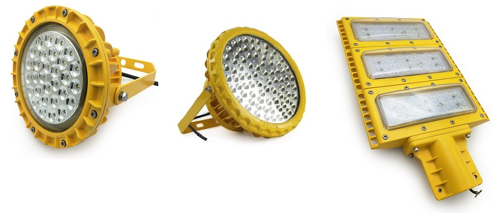 explosion proof lighting for paint