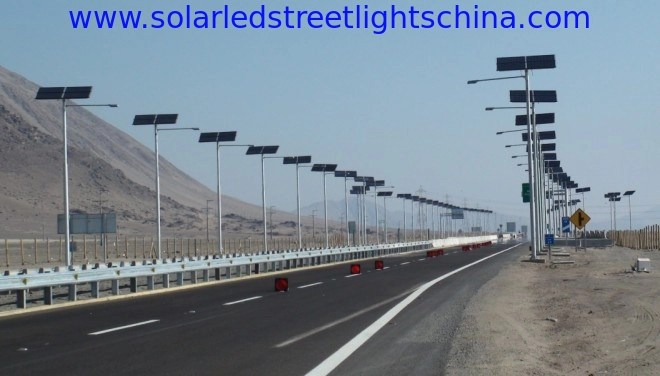 china solar led street lights