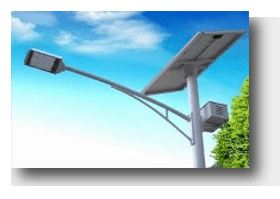 Hanging on the pole 1 - Solar Street Lights