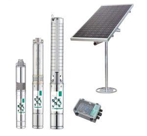 Solar-Water-Pump-600x554 Bomba de agua alimentada por energía solar