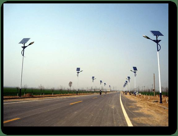 application iluminacin solar para jardines