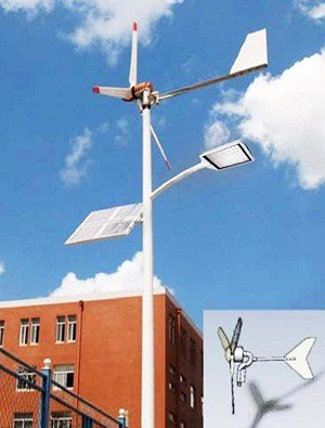 0002 Solar wind street light