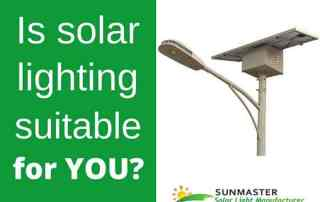 is solar lighting suitable for you1 - Solar Lights Blog