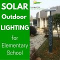 lowcost - Solar Outdoor Lighting for an Elementary School in Jinhua city